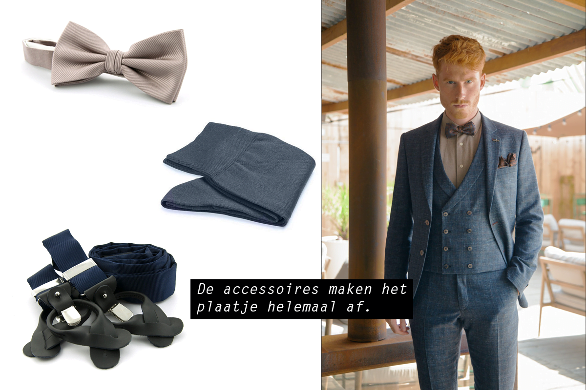 blauwe trouwpakken black tie good manners